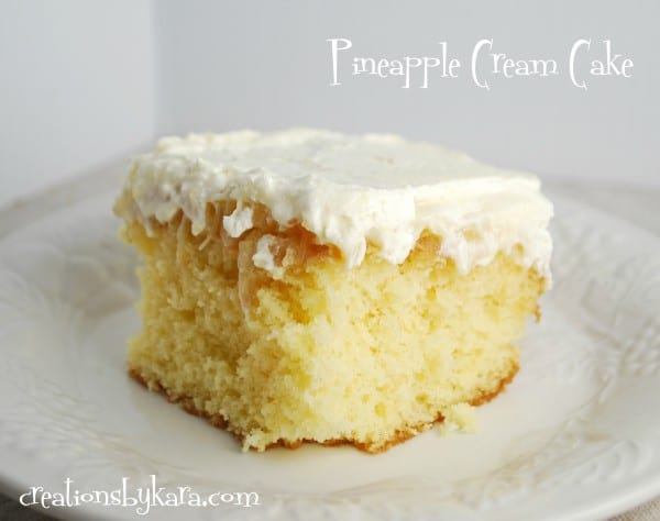 Pineapple Cake With Box Mix