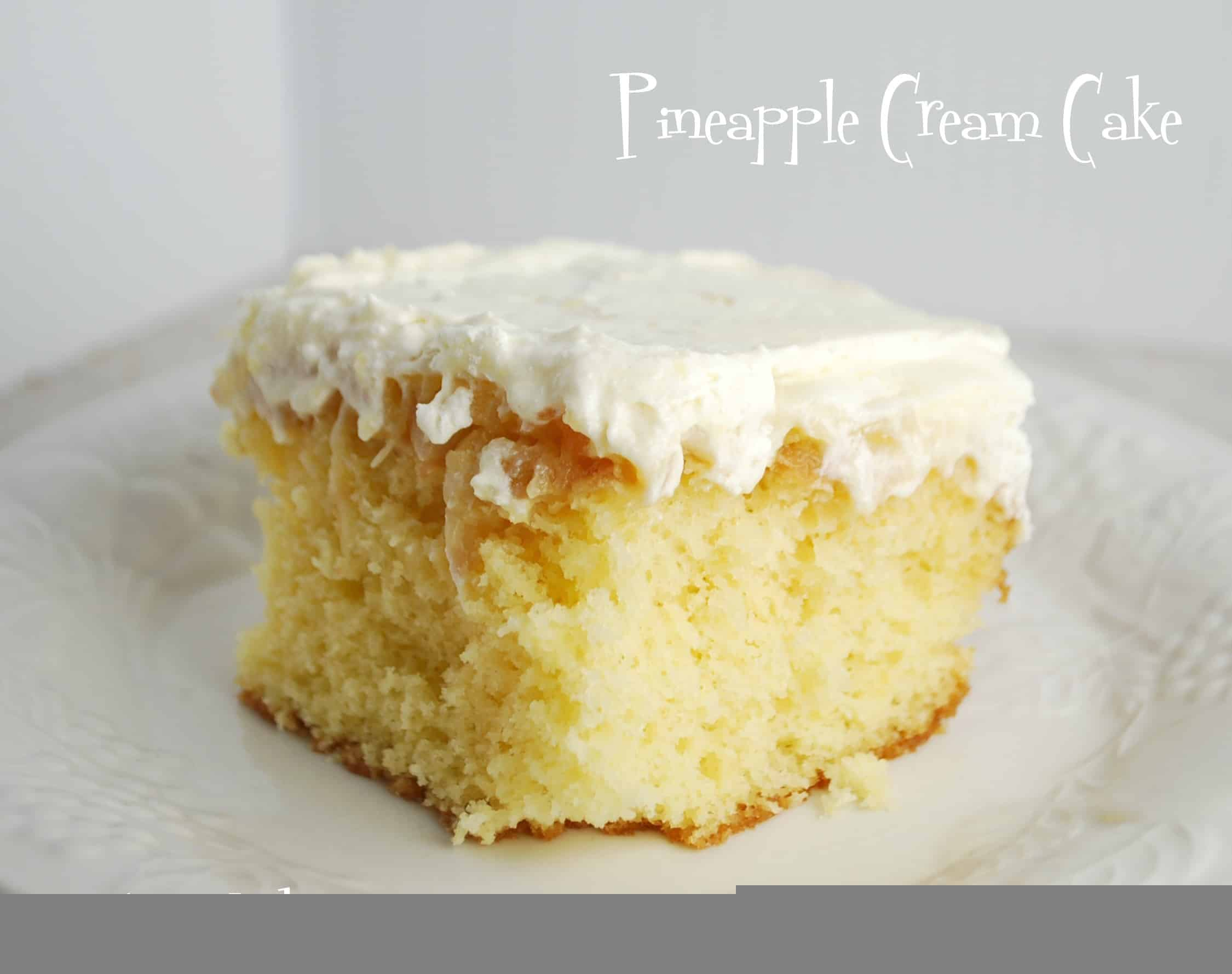 Orange Pineapple Cake From Scratch