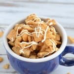 This recipe for Cinnamon Roll Chex Mix will become a new favorite! It is sweet, crunchy, and packed with the yummy flavor of cinnamon sugar. Give it a try!