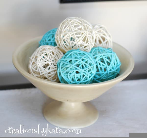 Diy Decor Balls Alluring Diy Spray Paint Decor Balls Inspiration Design