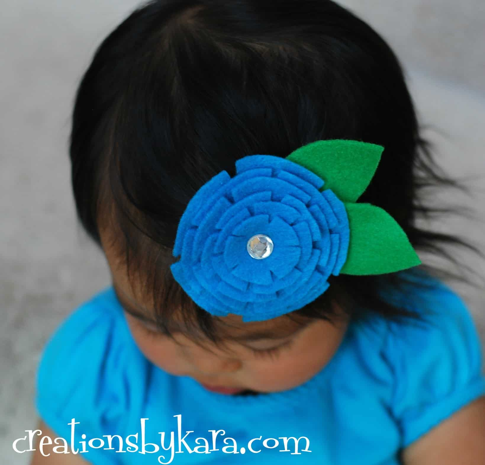 hair clip - Creations by Kara