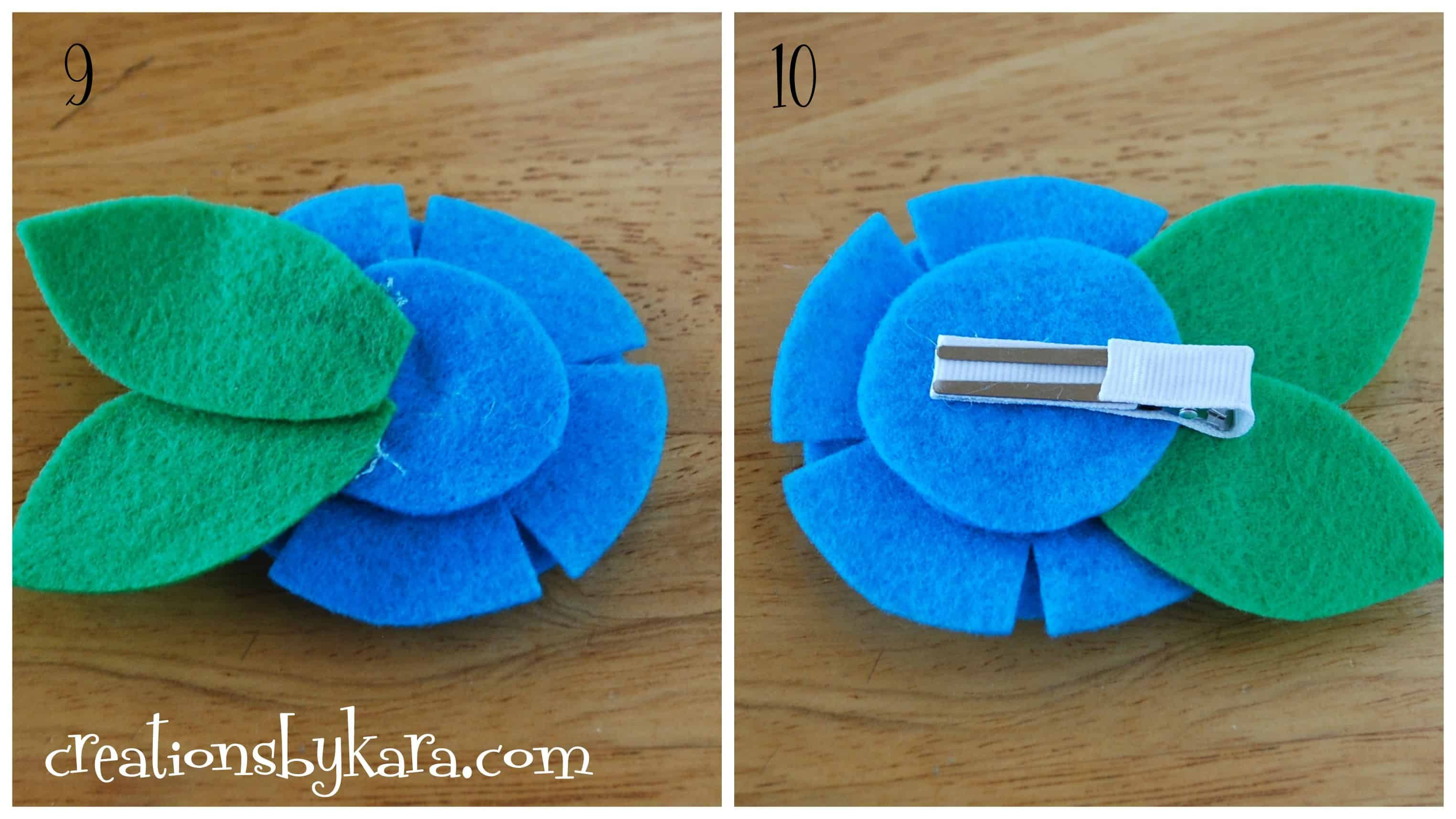 stacked-felt-flower-tutorial-collage - Creations by Kara