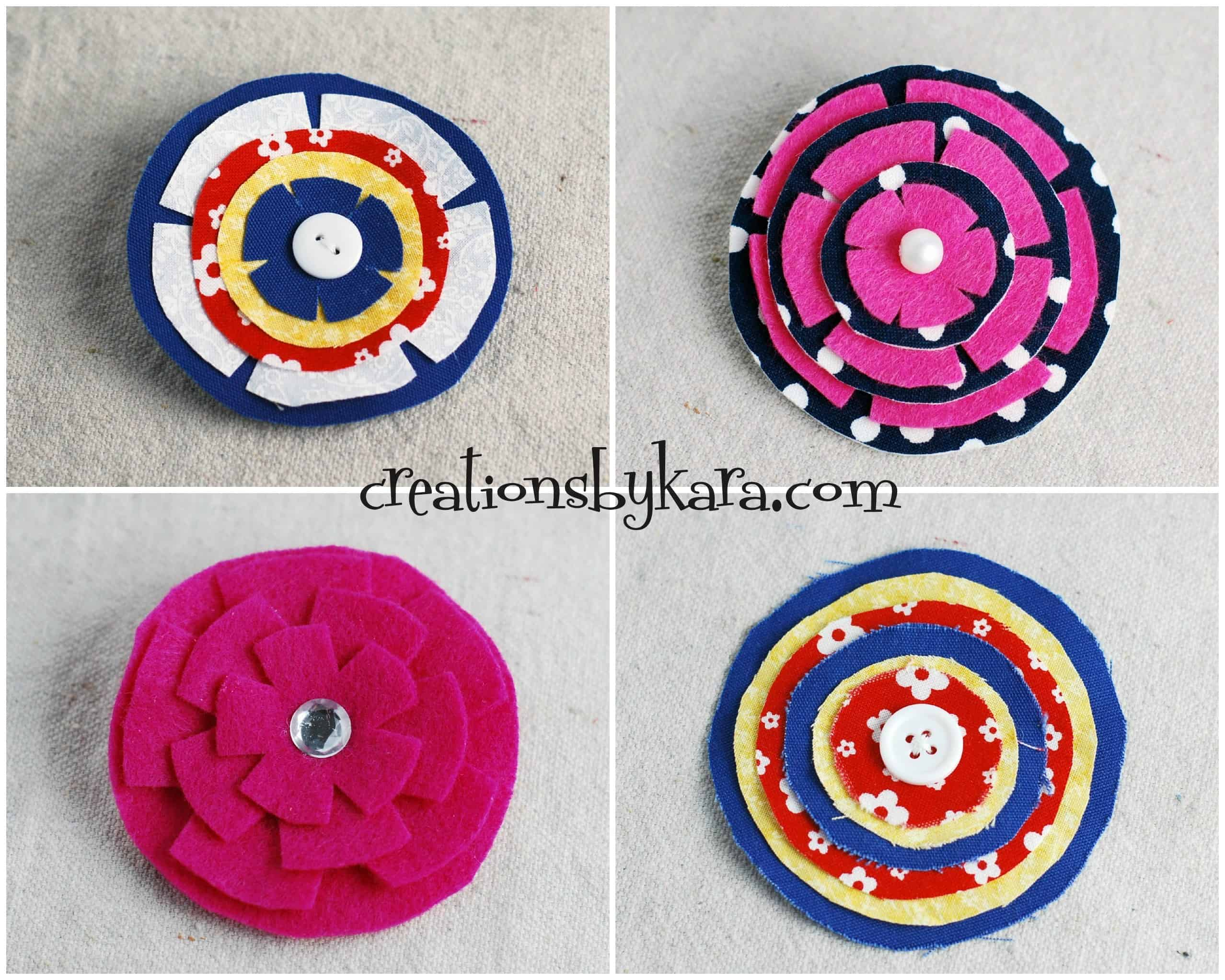 stacked-felt-flower2 - Creations by Kara