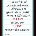 Teacher Appreciation Idea {Free Printable}