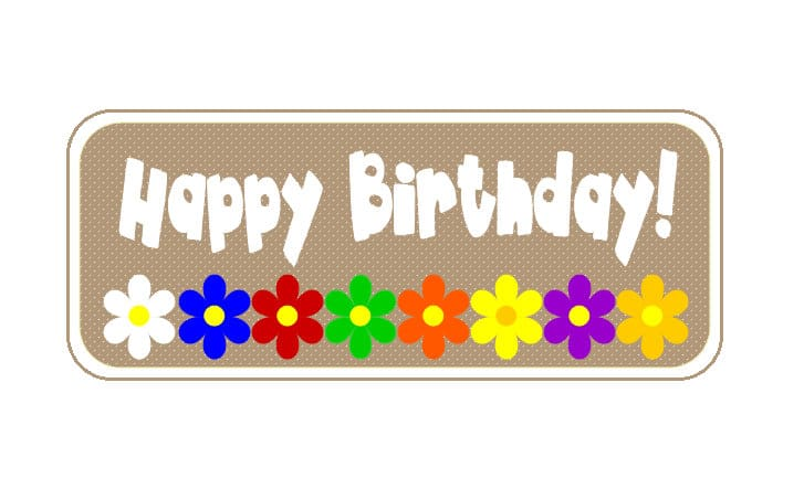 Lds Young Women S Birthday Tags