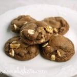 Chocolate Ice Cream Cookies