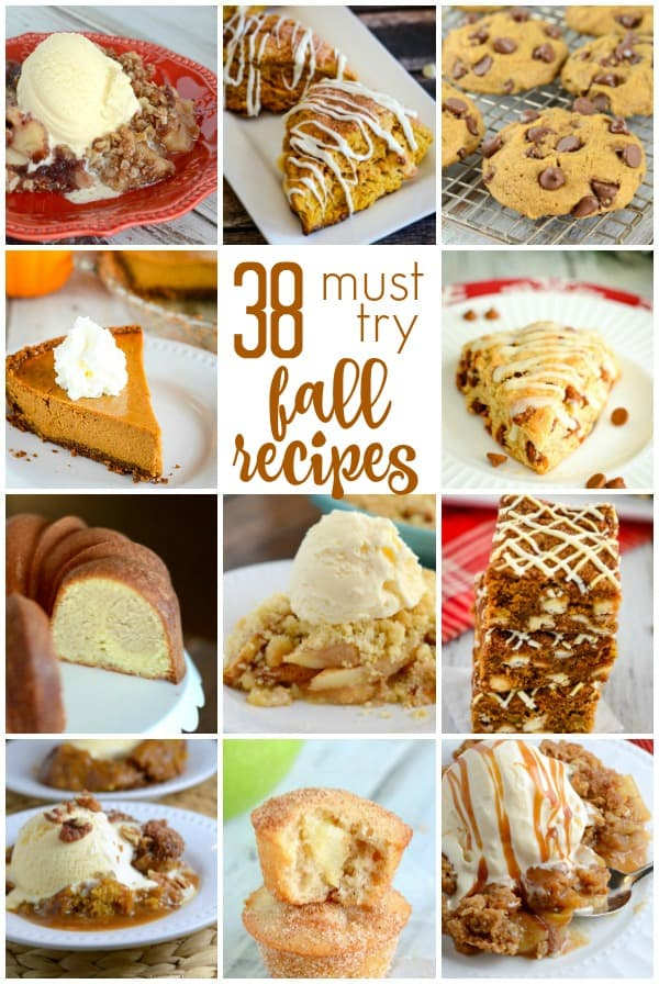 Must try fall recipes