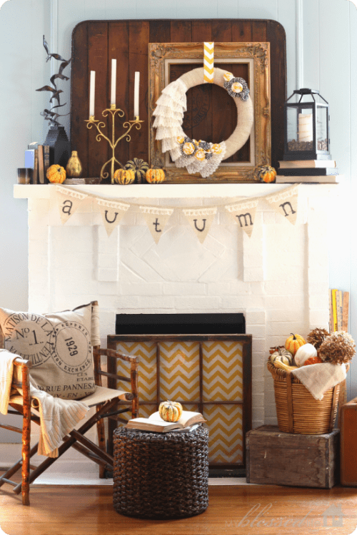 fall-mantel-wreath
