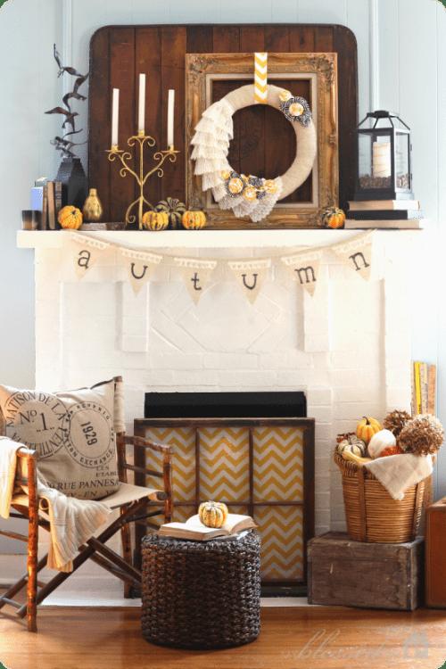 fall-mantel-wreath