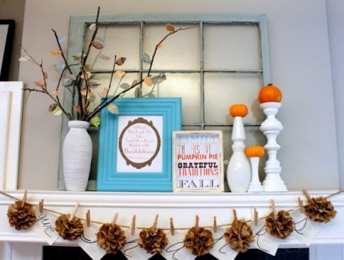 diy-fall-mantel-decor