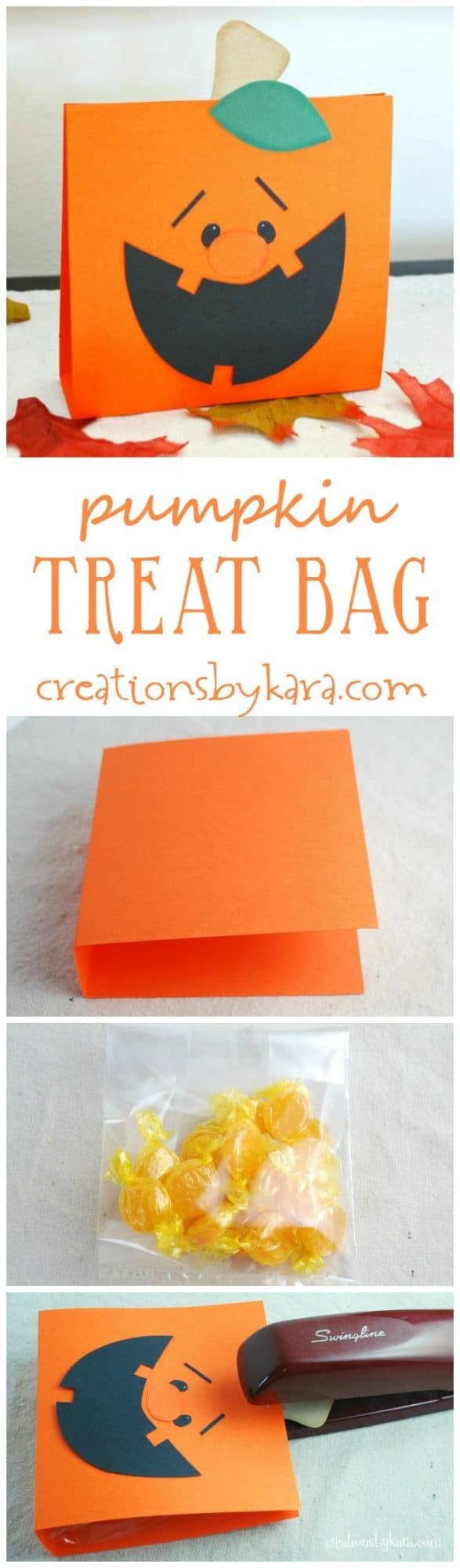Pumpkin Treat Bag tutorial - includes free pattern!
