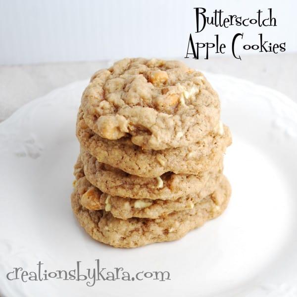 butterscotch-apple-cookies