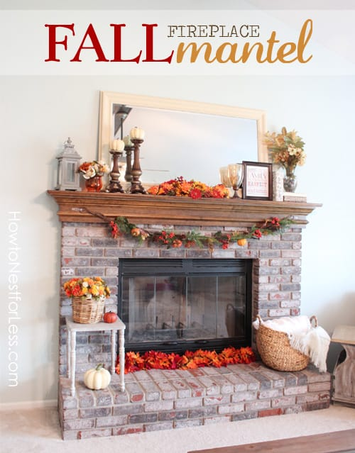 Diy Decorative Fireplace Screen With Recycled Timber