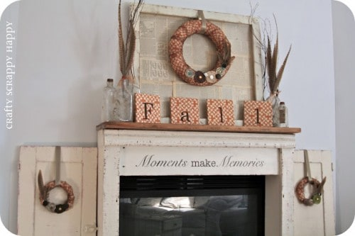 diy-mantel