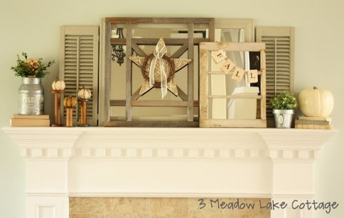 diy-fall-mantel