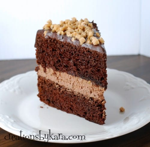 Double Layer Chocolate Cake