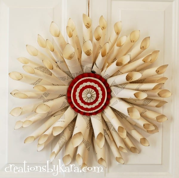 christmas-decor-christmas-wreath-book-page-wreath