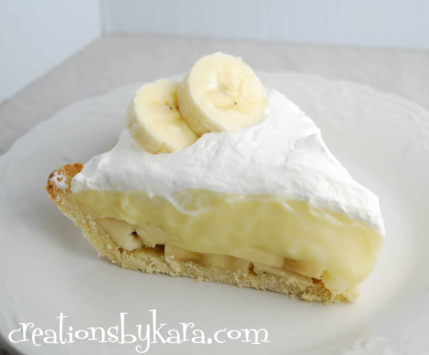 Banana Cream Pie - Creations by Kara