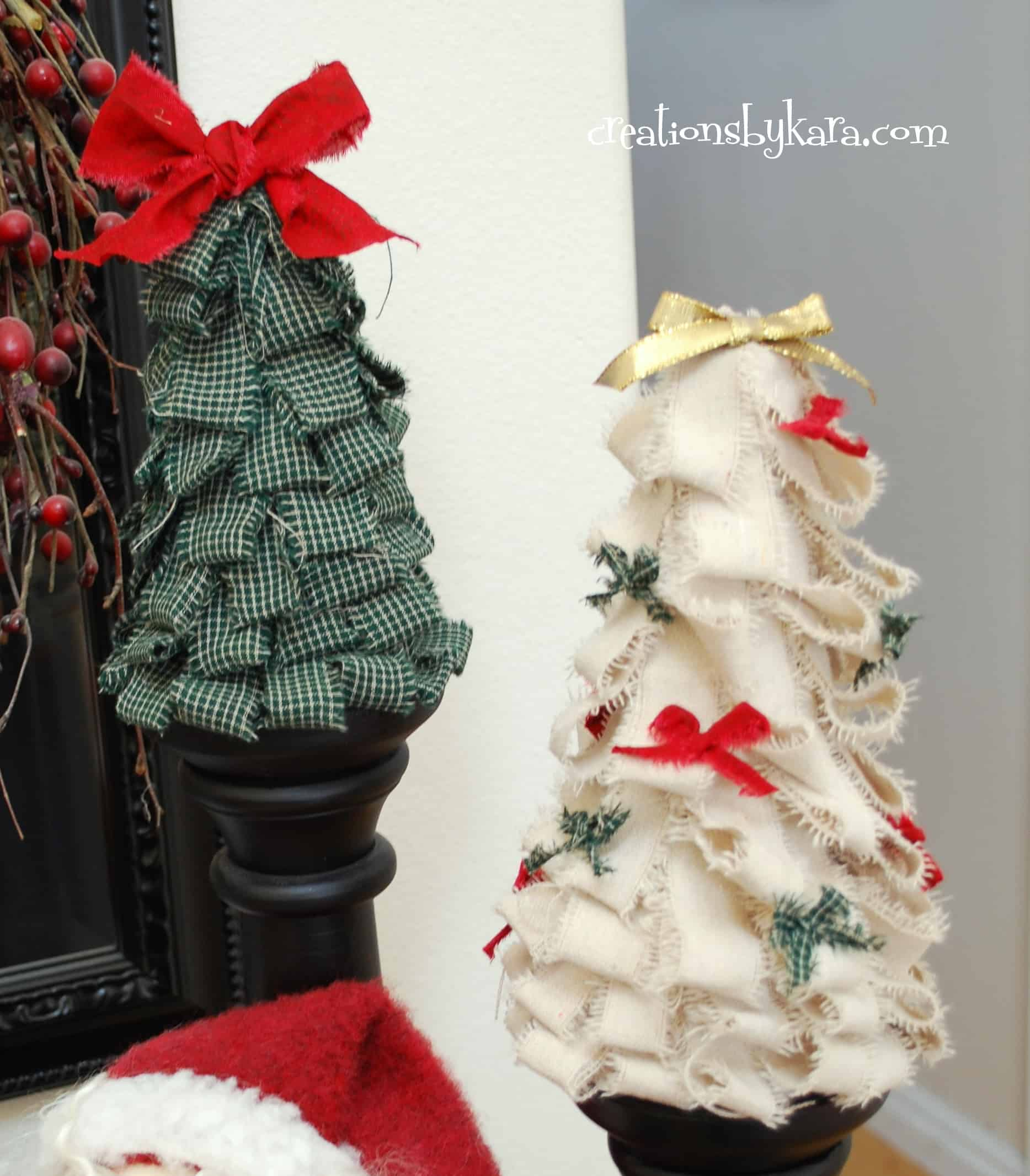 Diy christmas decorating entry table Diy christmas tree decorations
