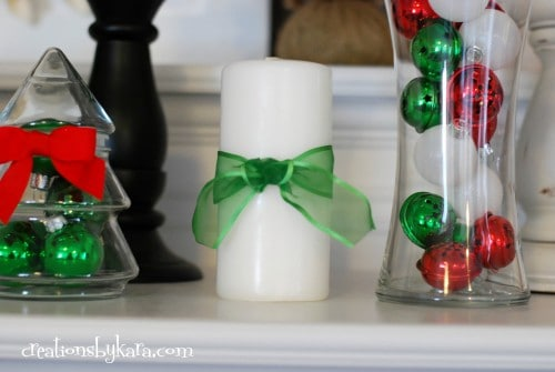 Christmas Mantel Decor 2012 021