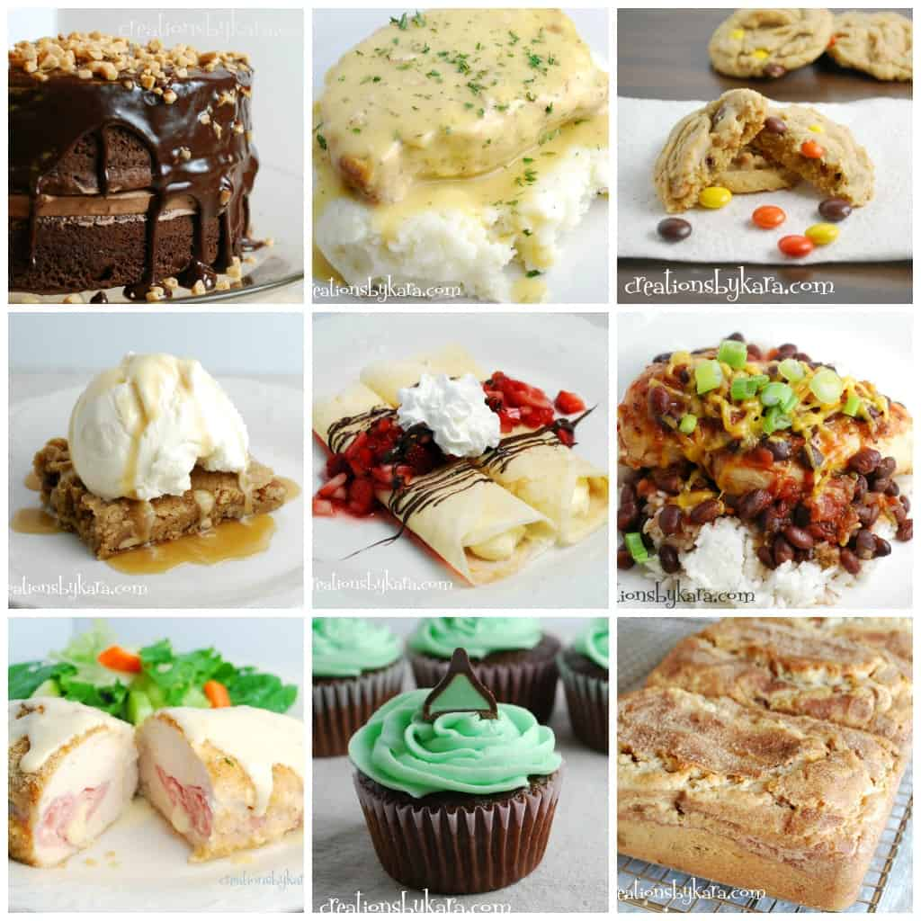 Favorite Recipes 2012 Collage