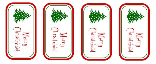 image relating to Merry Christmas Tags Printable identify Sizzling fudge sauce neighbor present