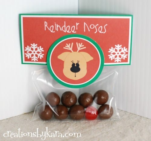Christmas Gift Idea--Reindeer Noses