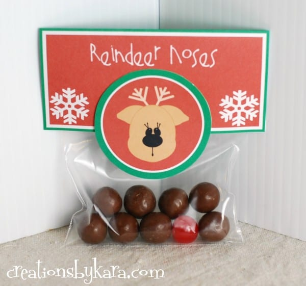 Easy Christmas Gift Idea–Reindeer Noses