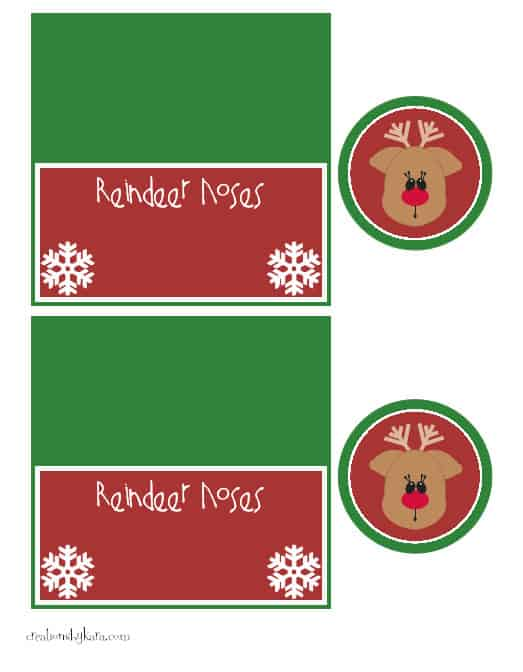 reindeer-noses, treat-bag-topper