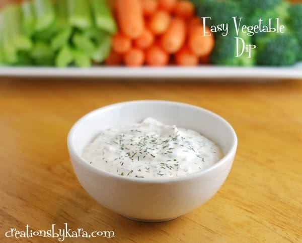 easy-vegetable-dip-recipe
