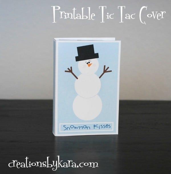 snowman kisses tic tac cover