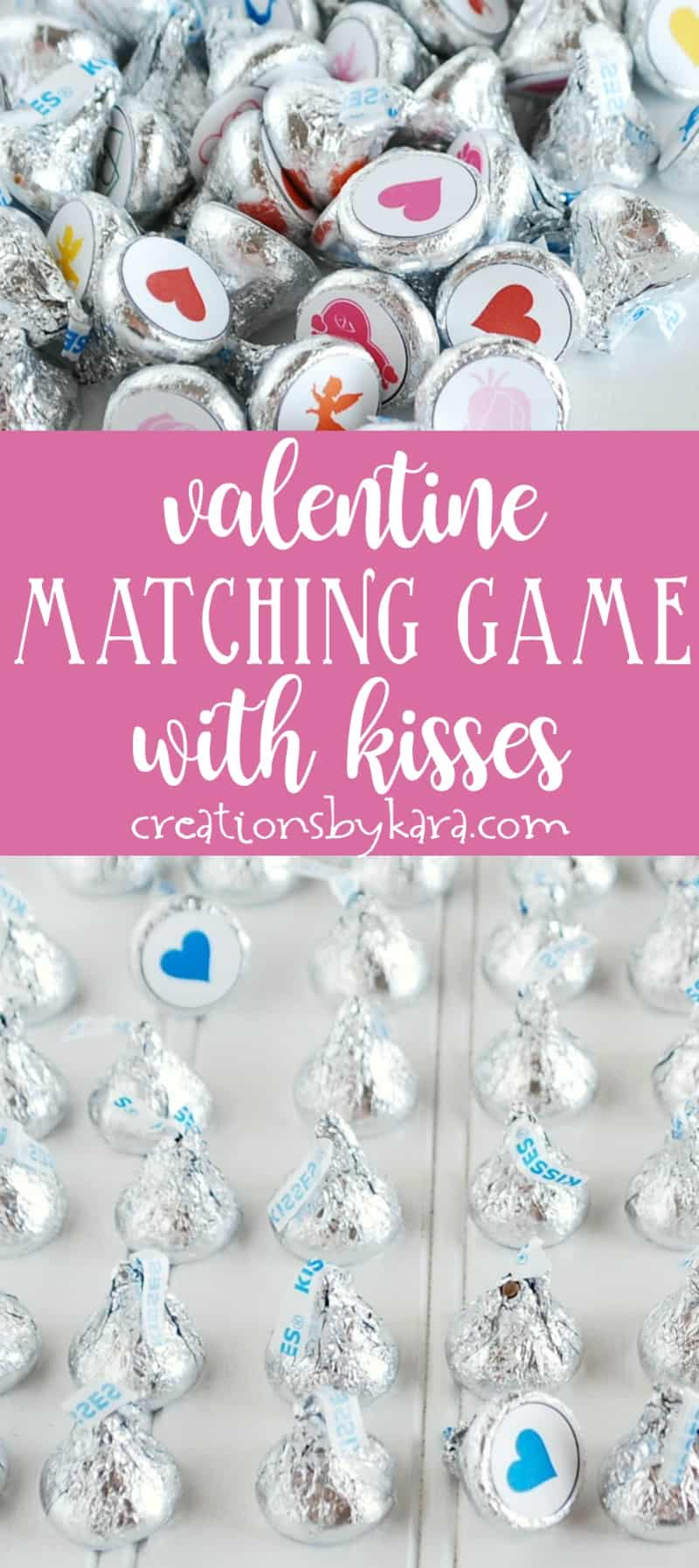 Valentines Day Matching Game Free Printable