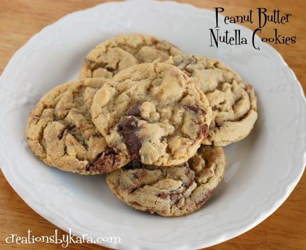 nutella-peanut-butter-cookies