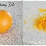 Cooking Tip– How To Freeze Orange Zest