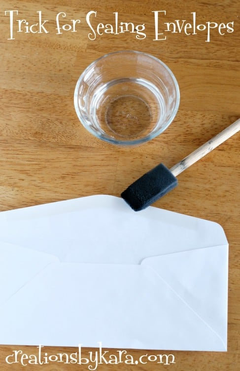 how-to-seal-envelope
