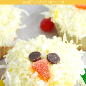 chick cupcakes pinterest pin