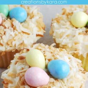 nest cupcakes pinterest pin