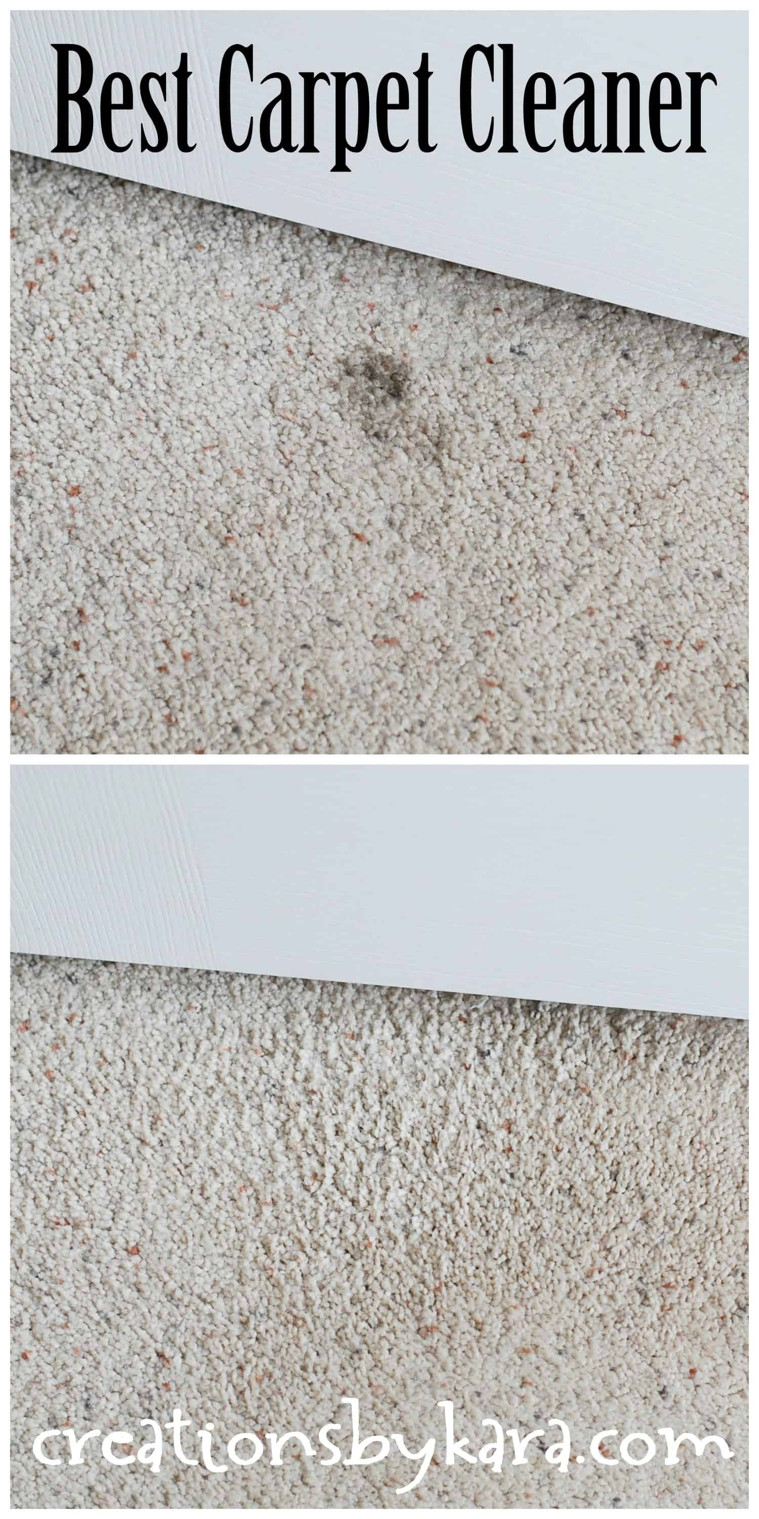 Cleaning Tip Best Cheapest Carpet Spot Remover