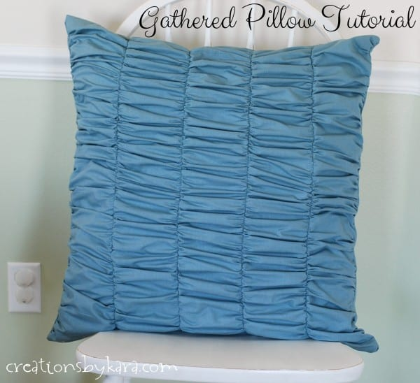 gathered-pillow