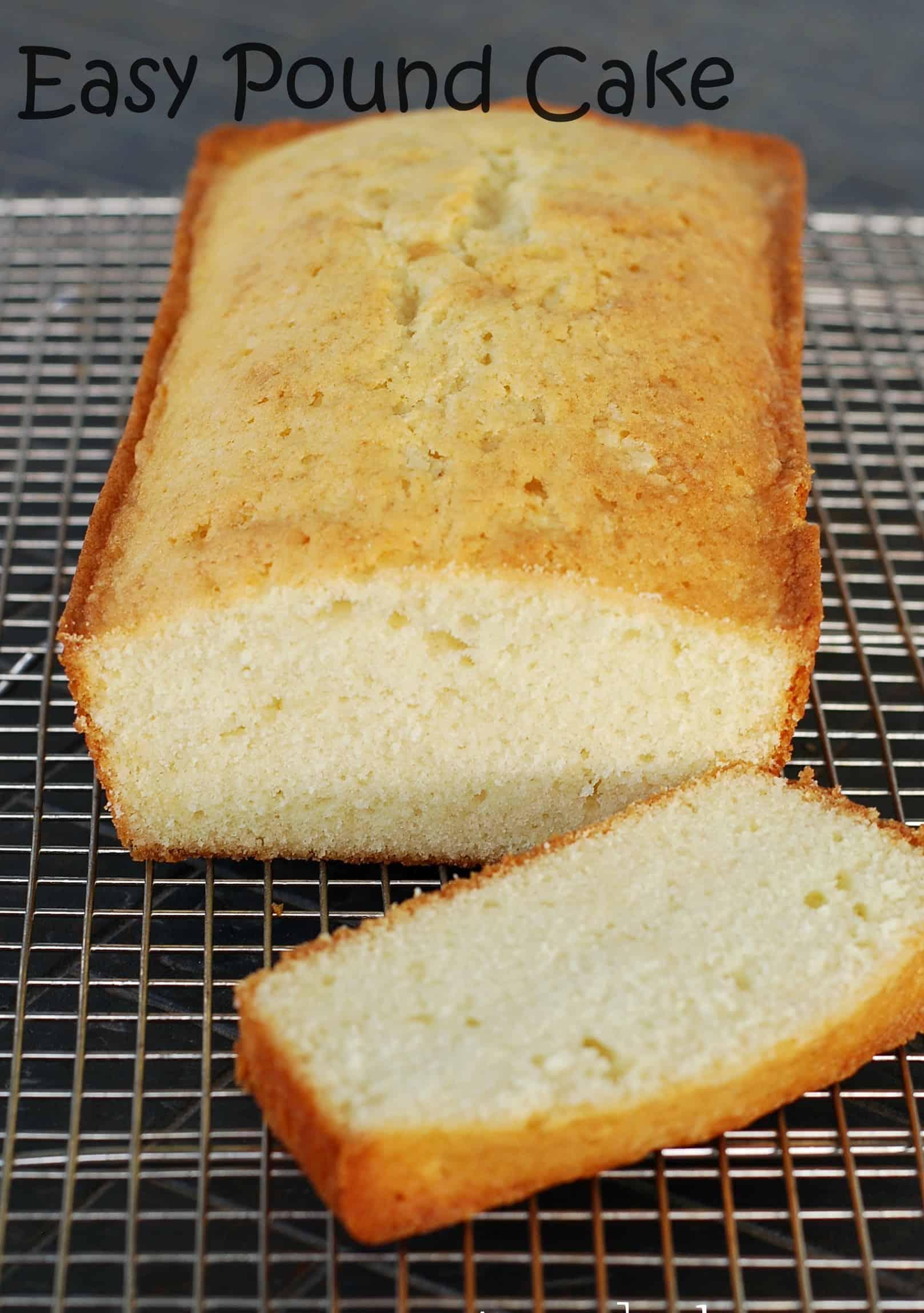 Pound Cake Recipes Using White Cake Mix