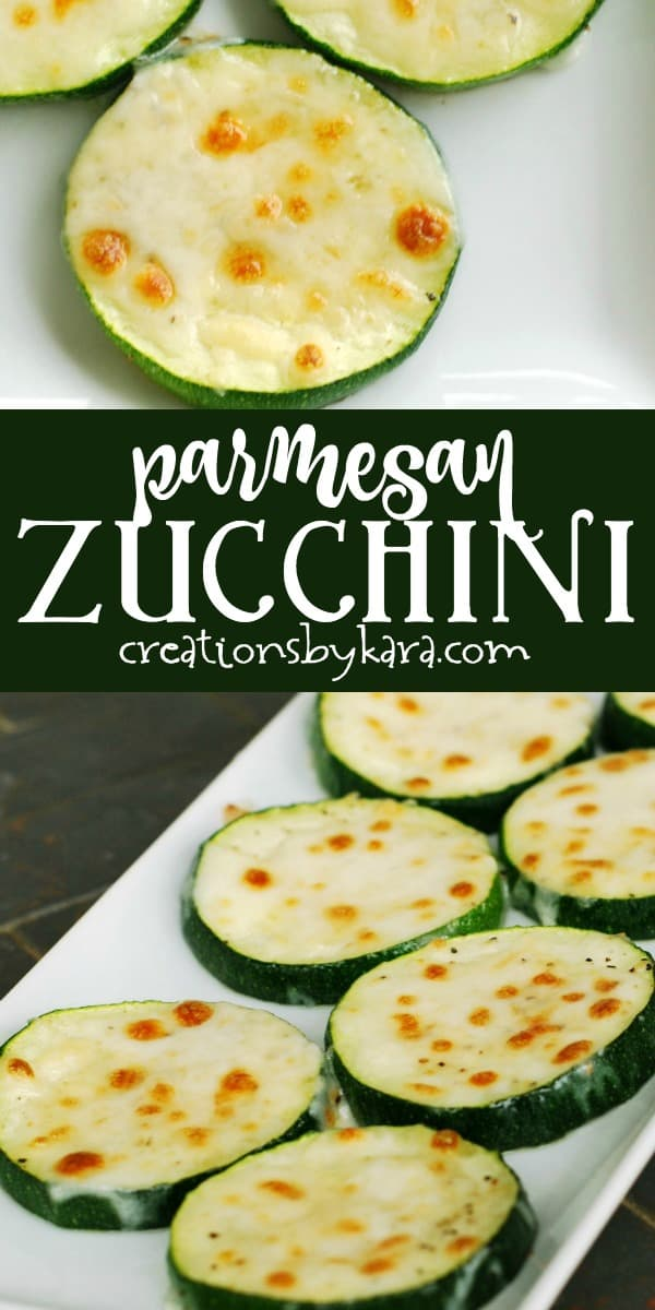 baked parmesan zucchini bites recipe collage