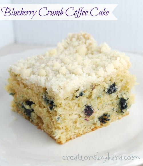 Blueberry Buttermilk Coffee Cake Cooking Light