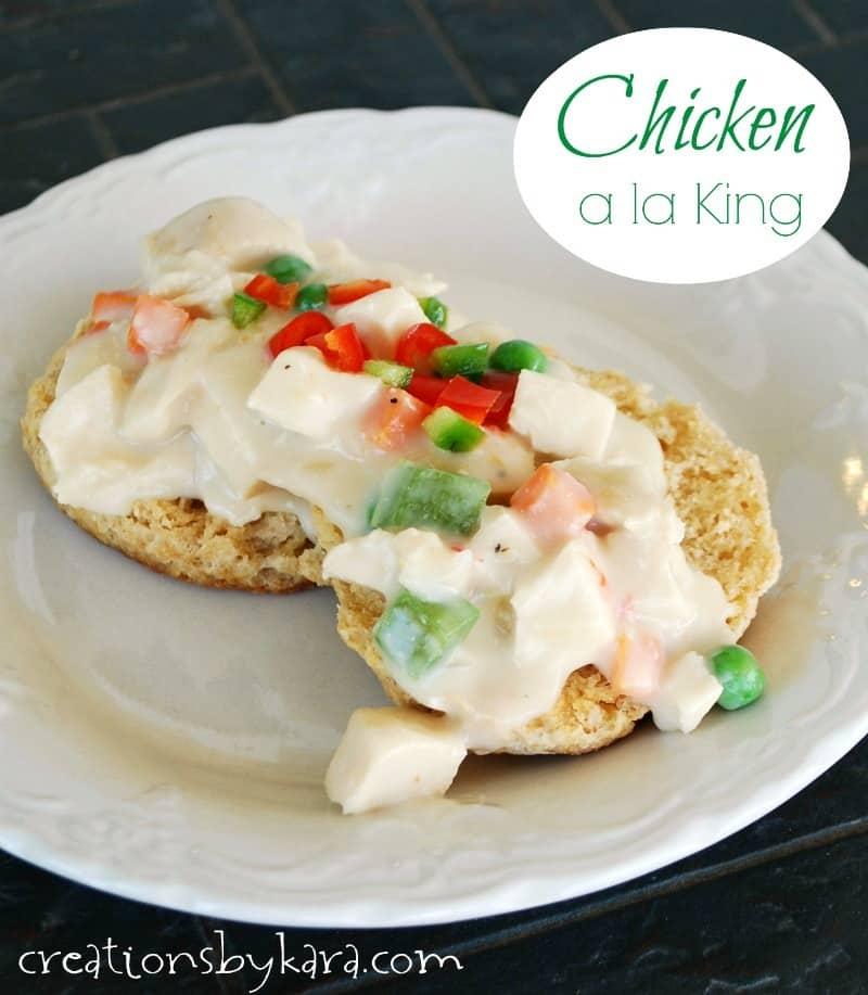 Chicken Ala King America S Test Kitchen
