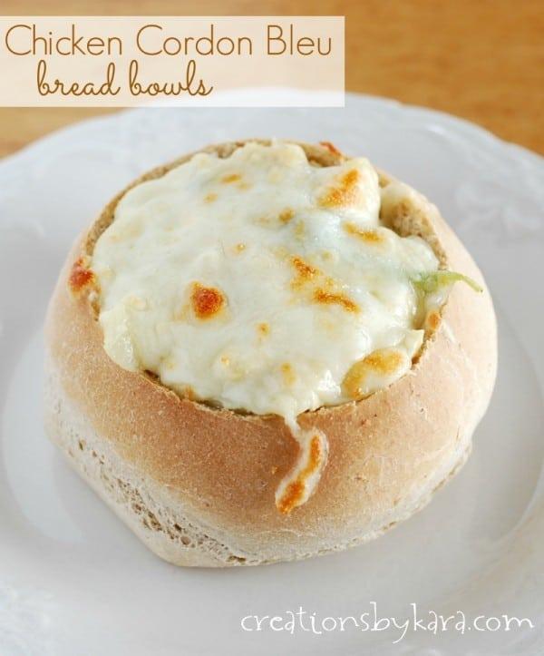 chicken-recipe, bread-bowls