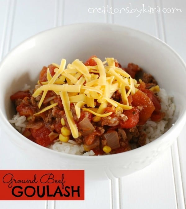 Easy ground beef goulash recipe forumfinder
