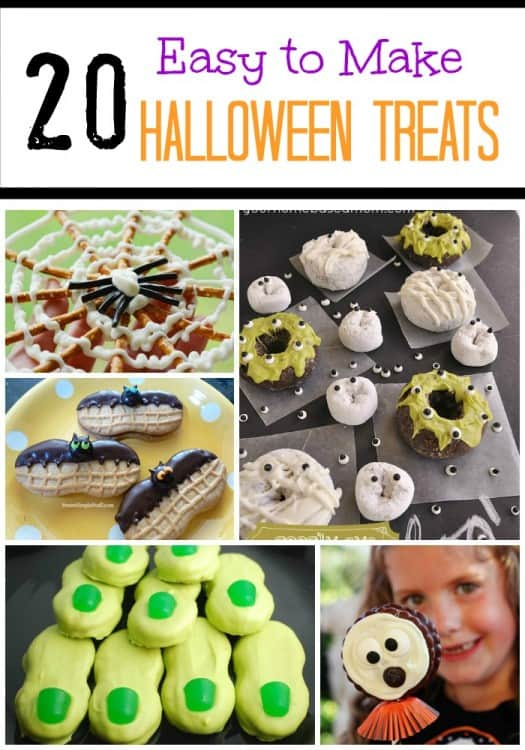 easy halloween treats - Fast And Easy Halloween Treats