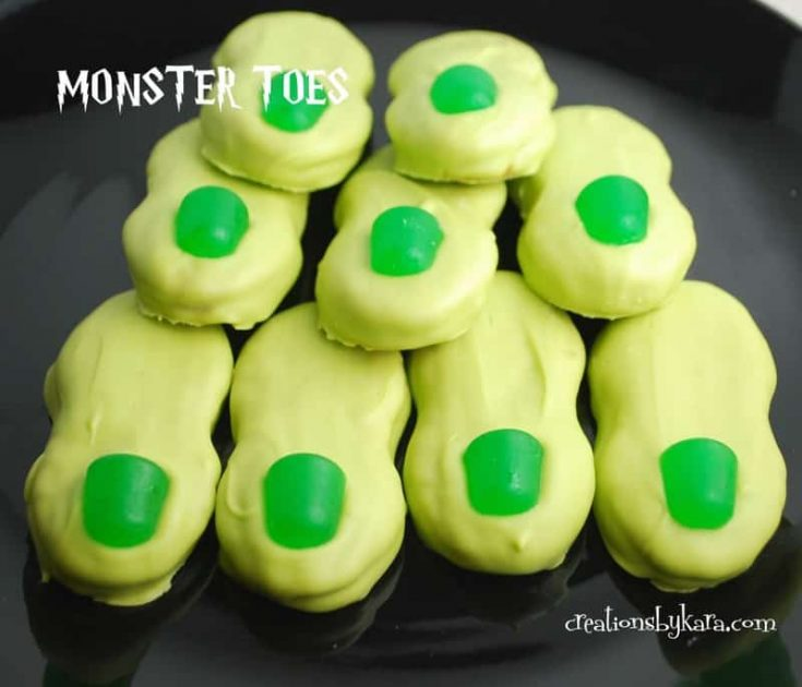 Halloween Food - Monster Toes