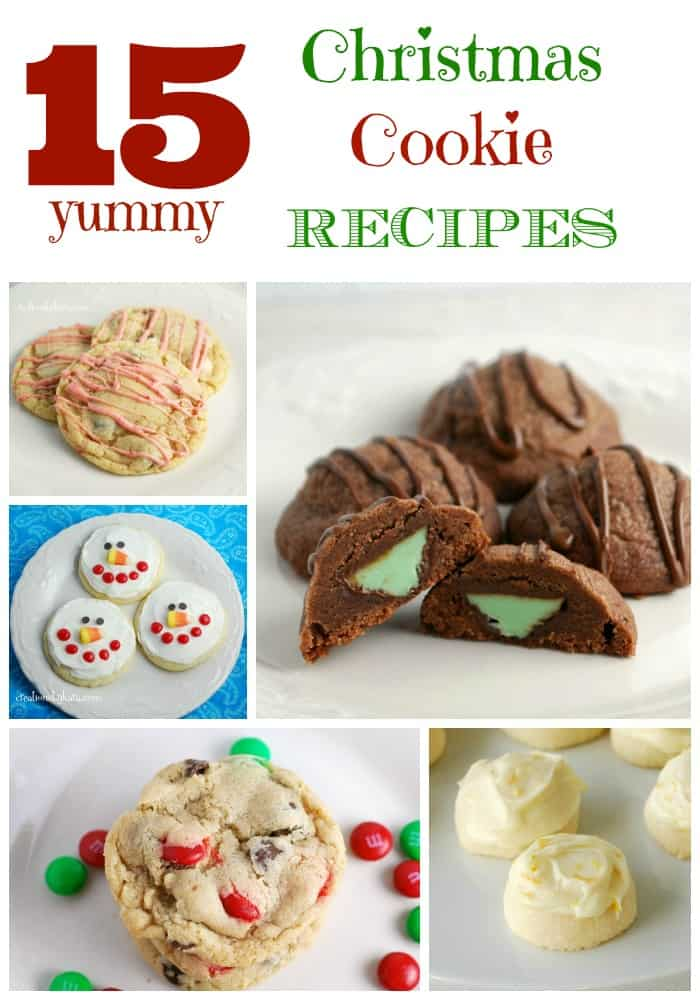 Round Up Favorite Christmas Cookies Creations By Kara