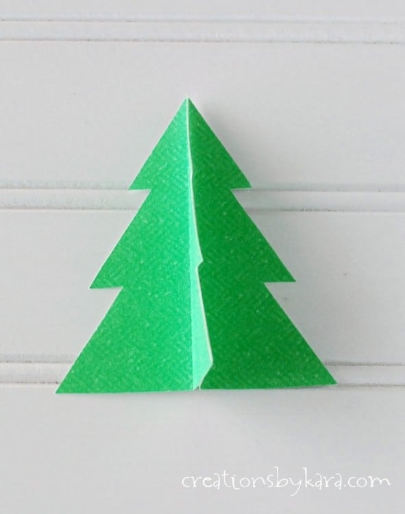 easy christmas decor tree banner 016 - Easy Christmas Tree