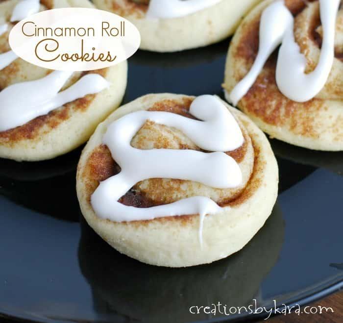 Cinnamon Bun Cookies Recipe — Dishmaps